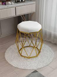 nordic morden macaron farbe dressing hocker ändern schuhe kleine rosa sofa barhocker und osmanen esszimmer stuhl wohnzimmer möbel