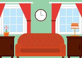 vector free vector living room vectorpicker