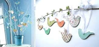 Diy Crafts For Home Decor Step By Spring Decorating Ideas And To Refresh Interiors Handmade Decorations 2 Paper