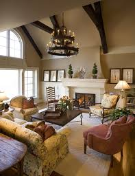 Earth Tone Colors Living Room Traditional With Fireplace Screen Tropical Dining Chairs