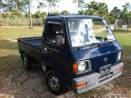 100 Japanese Mini Trucks 1987 Subaru Sambar Truck 4x4 Kei Pick Up Truck