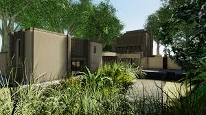 100 Millard House Ii ArtStation Frank Lloyd Wright Dan Marriott