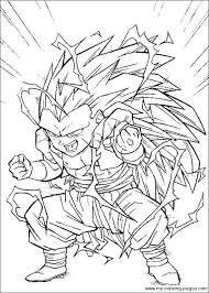Dragon Ball Z Coloring Page