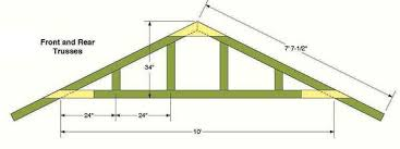 12 X 24 Gable Shed Plans by 10 12 Storage Shed Plans U0026 Blueprints For Constructing A Beautiful
