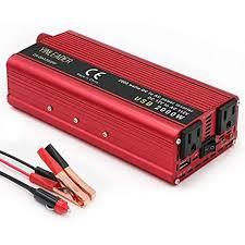 100 Power Inverters For Trucks Car Vehicle 800W2000WPeakDCAC 12V110V Converter