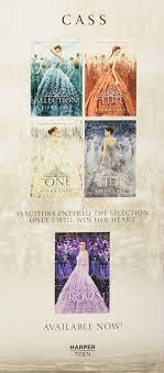 Amazon The Selection 4 Book Box Set Elite One Heir 9780062424402 Kiera Cass Books