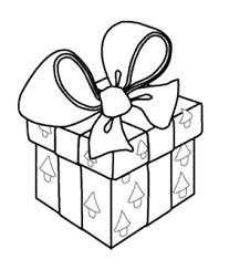 Christmas Present Boxes Coloring Pages