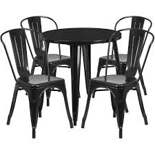 Details About 30'' Round Metal Indoor-Outdoor Table Set With 4 Cafe Chairs Restaurant Fniture In Alaide Tables And Chairs Cafe Fniture Projects Harrows Nz Stackable Caf Widest Range 2 Years Warranty Nextrend Western Fast Food Cafe Chairs Negoating Tables 35x Colourful Gecko Shell Ding Newtown Powys Stock Photo 24 Round Metal Inoutdoor Table Set With Due Bistro Chair Table Brunner Uk Pink Pool Design For Cafes Modern Background