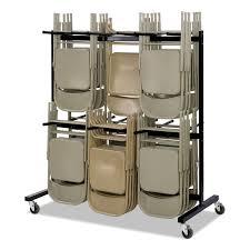 100 Walmart Carts Folding Chairs Safco TwoTier Chair Cart 6412w X 3312d X 7014h Black