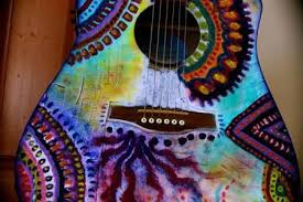 Different Ways To CUSTOMIZE Your Guitar Almost For Free Decorated Guitars Pinterest Living Room Decoration Sale