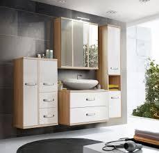 modernes badezimmer in sonoma eiche weiß hochglanz arianna 4