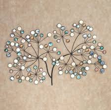 Tree Wall Decor With Pictures by Wall Ideas Acrylic Crystal Outdoor Half Face Sun Outdoor Metal