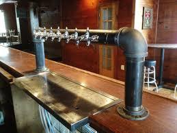 Faucet Factory Encinitas Ca by 8 Tap Custom Draft Beer Tower Industrial Iron Pipe Door Tappedbeer