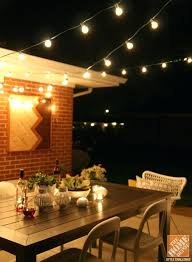 outdoor commercial led string lighting patio lights patios diy