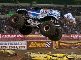 100 Monster Trucks Indianapolis Lindsey Weenk Pilots The Lucas Oil Crusader To A Freestyle