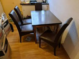 polsterstuhl stuhl esstisch esszimmer küchenstuhl kunstleder