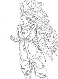 Goku Para Colorear Facil Ssj Juegos De Dragon Ball Dragonball Para