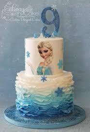 Frozen Elsa Birthday Cake