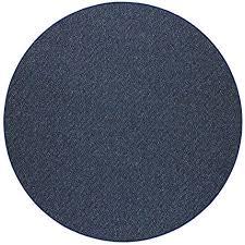 havatex schlingen teppich stanford rund farbe grau blau