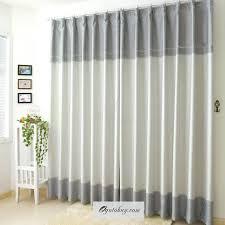 Modern Curtains Modern Curtain Perspective Light Beige Waterproof