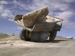 100 Funny Truck Pics Big Stone On The Picture