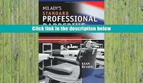 Premium Book Exam Review For Milady S Standard Professional Barbering Full