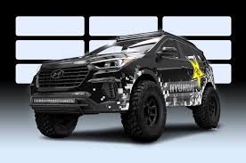 Hyundai's Santa Fe Is A Monster Truck Revealed Ahead Of SEMA