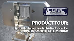 SMOOTH ALUMINUM Hydraulic Tank/Headache Rack COMBO Kit: Product Tour ...