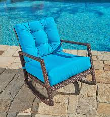 Shopping Online Suncrown Outdoor Furniture Teal Patio Rocking Chair ... Sunnydaze Outdoor Patio Rocking Chair Allweather Faux Wood Design Brown The Polywood Heritage Indoor Chairs White Pvc All Weather Coral Coast Losani Wicker Old Hickory Porch Hanover Adirondack Hvlnr10wh Fniture Best Way For Your Relaxing Using Pineapple Cay Allweather Choiceproducts Deck Proof With Cushions Magnificent Mainstays Briar Creek Padded Set Of 2 Multiple Colors