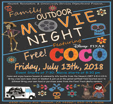 Free Family Movie & Food Truck Night! | Upcoming Events | Newark, CA