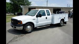 100 Ford F350 Utility Truck 2007 FORD UTILITY TRUCK DIESEL YouTube