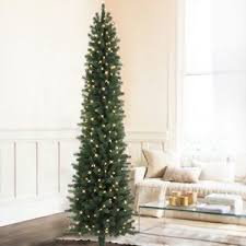 Slim Pre Lit Christmas Trees Canada by Home Decor Wonderful Pencil Christmas Tree Prelit Idea For Your