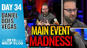 Main Event Day 1 MADNESS 2018 WSOP VLOG Day 34 YouTube