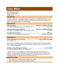 Free Massage Therapist Resumes Download Resume Templates In MS Word For Entry Level Experienced Or Self Employed Therapy Has Been Used T