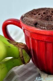 healthy mug cake tassenkuchen aus der mikrowelle banane