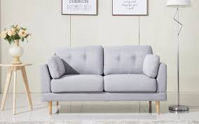 Tribecca Home Uptown Modern Sofa Grey by Modern Loveseat Modern Loveseat Sofa Avalon Modern Modular