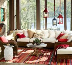 Pottery Barn Indoor Outdoor Curtains by The Glow Of Summer How To Decorate With Lanterns