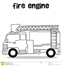 99 How To Draw A Fire Truck Step By Step Hand Draw Of Fire Engine Stock Vector Illustration Of Vector 85318174