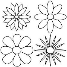 Repeating the petal pattern to reveal four different kinds of flowers Easy To Draw RoseLearn To