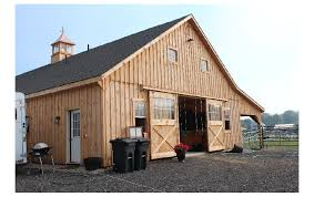 Shed Row Barns Texas by Sheds Storage Barns Homes Garages Camps Horse Barns In Maine