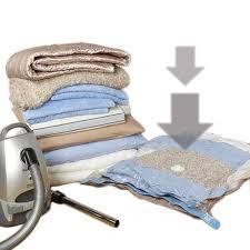 sac de rangement sous vide pour vêtements