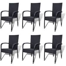 Rattan Outdoor Dining Chairs Stackable Garden Furniture Weatherproof ... Patio Chairs At Lowescom Contemporary Ding Chair Stackable Recyclable Product And Modern Lowes Round And Ding Outdoor Costco Alinum Depot Noble House Dover Multibrown Stackable Wicker Chair Mercury Row Corrales Stacking Reviews Wayfair Plastic Herman Miller California White Furnish Vifah 3d 2 Included In Outdoor Chairs Backydinajarcom Trade Winds Restaurant With Centauro Cantilever Couture