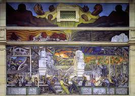 Denver International Airport Murals Painted Over by Detroit Industry Murals Wikipedia