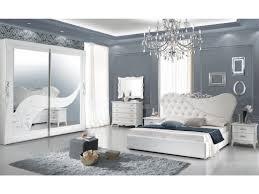 schlichter schlafzimmer set giulianova hochglanz weiß schrank 2 türig größe wählbar 2x nachttisch kommode spiegel