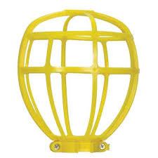 satco 90 2612 5 46 90 2612 light bulb cage yellow plastic