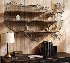 USA Metal Shelf