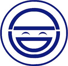 Laughing Man Custom Logo PSD