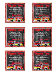 Firetruck Birthday Party Package 2 - Forever Fab Boutique