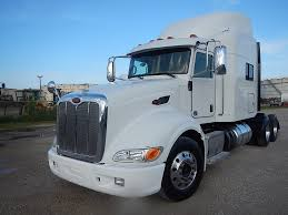 USED 2013 PETERBILT 386 TANDEM AXLE SLEEPER FOR SALE IN TX #2729