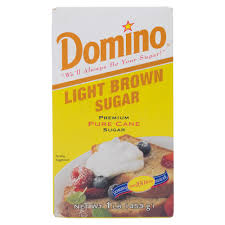 Domino Light Brown Sugar 1 lb Box 24 Case
